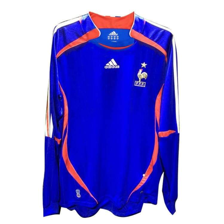 Adidas National Team 2006 France (H) L/S Jersey