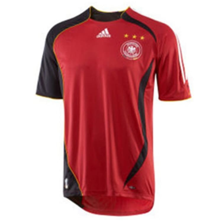 Jerseys / Soccer: Adidas National Team 2006 Germany (A) S/s Jersey - Adidas / L / Red / 2006 Adidas Away Kit Clothing Germany |