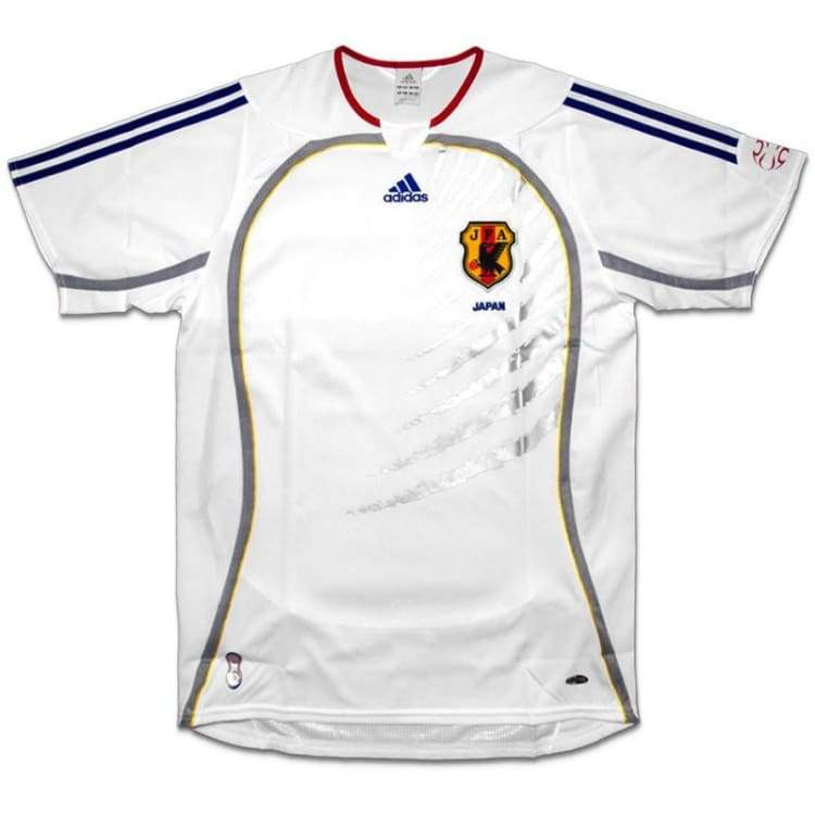 Jerseys / Soccer: Adidas National Team 2006 Japan (A) S/s 818174 - Xo / White / Adidas / 2006 Adidas Away Kit Clothing Japan |