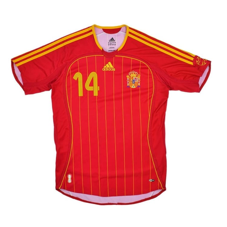 Jerseys / Soccer: Adidas National Team 2006 Spain (H) S/s Jersey - Adidas / Xl / Red / 2006 Adidas Clothing Home Kit Jerseys |