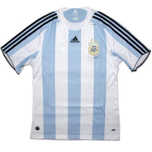 Jerseys / Soccer: Adidas National Team 2008 Argentina (H) S/s 623821 - 2008 Adidas Argentina Argentina (World Cup) Blue