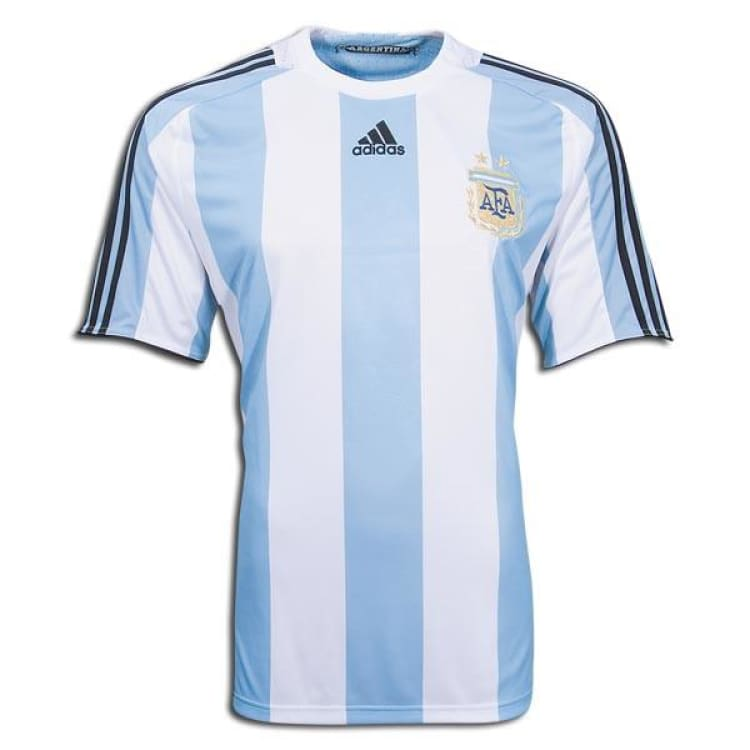 Jerseys / Soccer: Adidas National Team 2008 Argentina (H) S/s 623821 - Adidas / Xl / Blue / 2008 Adidas Argentina Argentina (World Cup) Blue