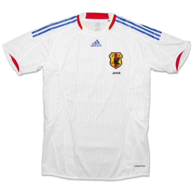 Jerseys / Soccer: Adidas National Team 2008 Japan (A) S/s 720988 - Xl / White / Adidas / 2008 Adidas Away Kit Clothing Japan |