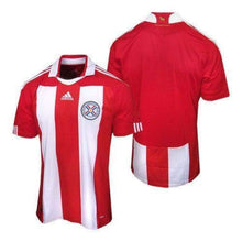 Jerseys / Soccer: Adidas National Team 2010 Paraguay (H) S/s Jersey - 2010 Adidas Clothing Home Kit Jerseys