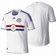 Jerseys / Soccer: Adidas National Team 2011 Paraguay (A) S/s Jersey - 2011 Adidas Away Kit Clothing Jerseys