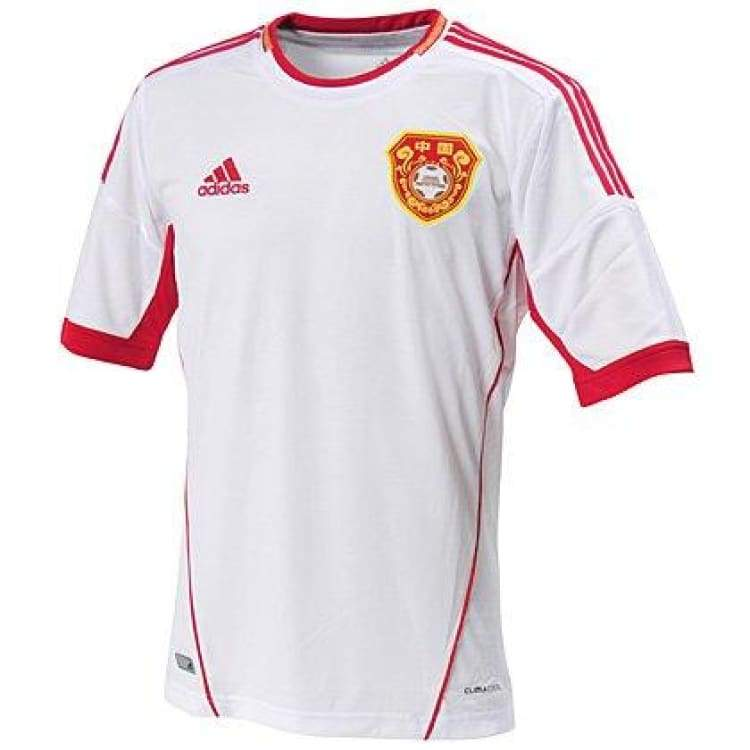 Jerseys / Soccer: Adidas National Team 2012 China (A) S/s X11795 - Xl / Adidas / 2012 Adidas Away Kit China Clothing |