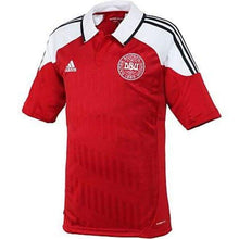 Jerseys / Soccer: Adidas National Team 2012 Denmark (H) S/s - 2012 Adidas Clothing Denmark Denmark (World Cup)