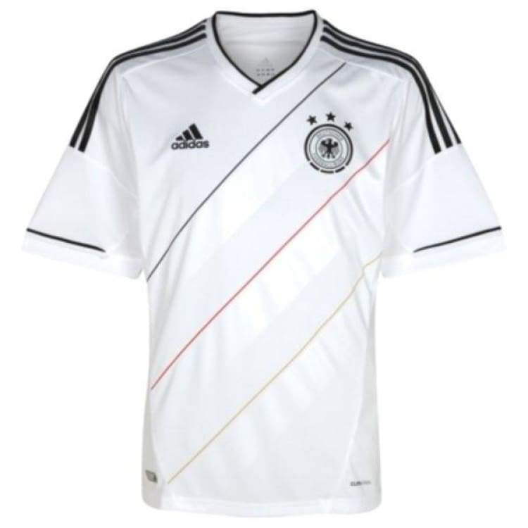 Jerseys / Soccer: Adidas National Team 2012 Germany (H) S/s X20656 - Adidas / M / White / 2012 Adidas Clothing Germany Germany (World Cup) |