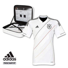 Jerseys / Soccer: Adidas National Team 2012 Germany (Techfit) Authentic (H) S/s X21769 - Adidas / M / White / 2012 Adidas Clothing Germany