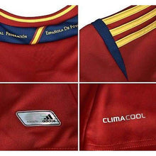 Jerseys / Soccer: Adidas National Team 2012 Spain (H) S/s X10937 - 2012 Adidas Clothing Home Kit Jerseys