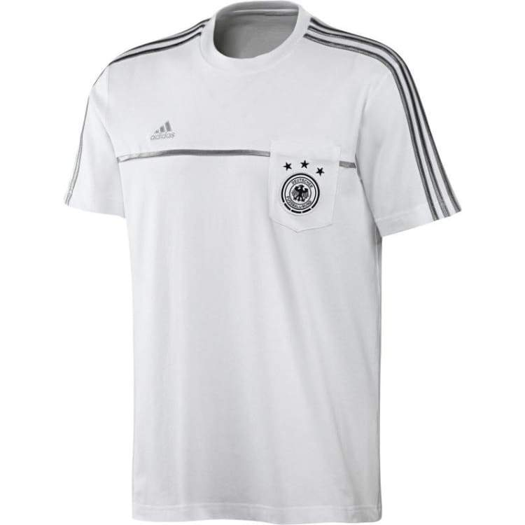 Tees / Short Sleeve: Adidas National Team 2014 Germany Tee D84064 - Adidas / M / White / 2014 Adidas Clothing Fans Wear Germany |