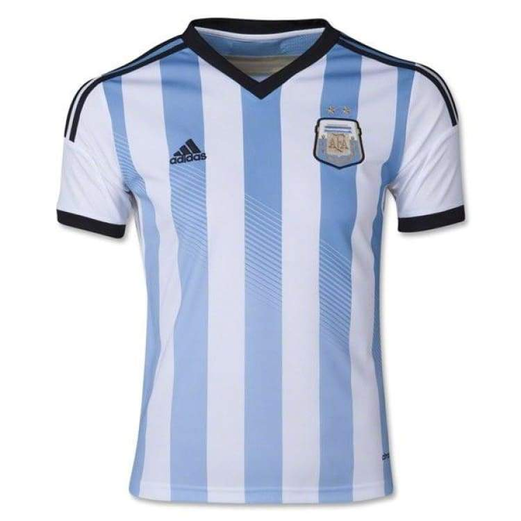 Jerseys / Soccer: Adidas National Team 2014 World Cup Argentina (H) Youth S/s G74571 - Adidas / Kids: 130 Jp / Blue / 2014 Adidas Argentina