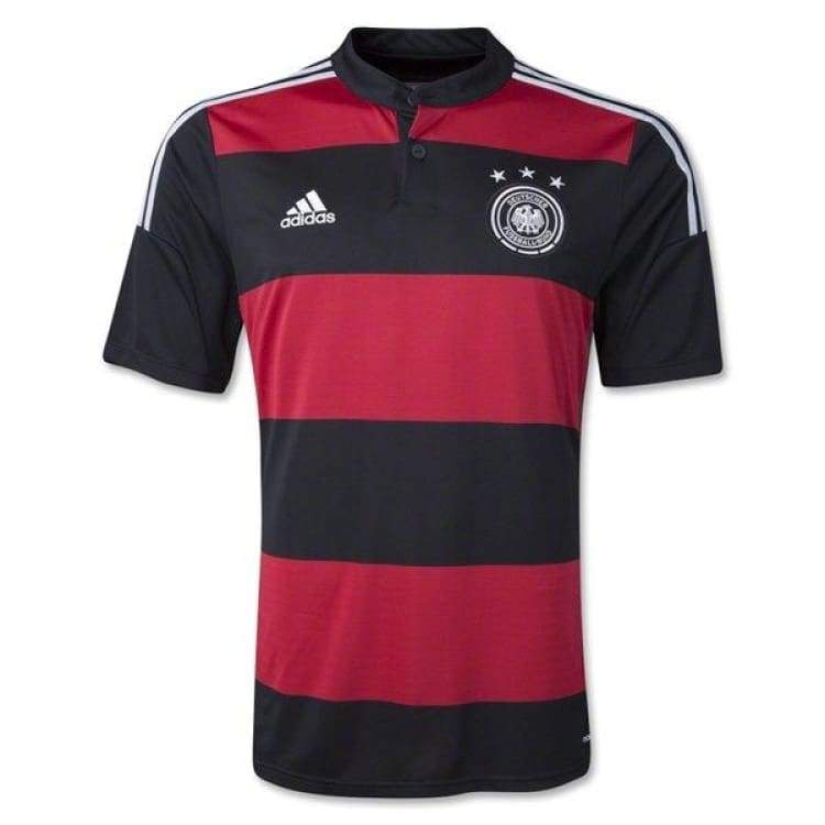 Jerseys / Soccer: Adidas National Team 2014 World Cup Germany (A) S/s G74520 - Adidas / S / Black/red / 2018 Adidas Away Kit Black/red