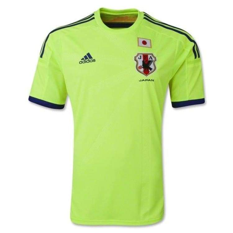Jerseys / Soccer: Adidas National Team 2014 World Cup Japan (A) S/s G74549 - Adidas / S / Yellow / 2014 Adidas Away Kit Clothing Japan |