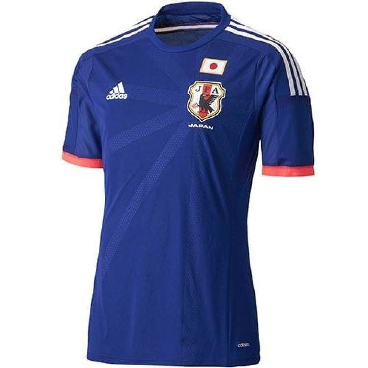 Jerseys / Soccer: Adidas National Team 2014 World Cup Japan (H) Authentic S/s G85281 (Japan Version) - Adidas / Jaspo: S / Blue / 2014