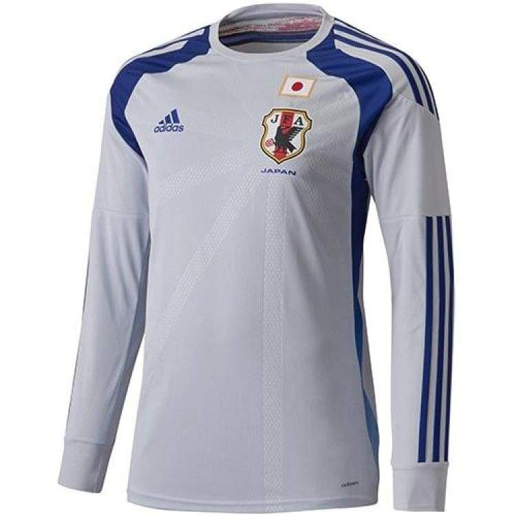 Jerseys / Soccer: Adidas National Team 2014 World Cup Japan (H) Gk L/s Adizero G85284 - Adidas / Jaspo: M / Grey / 2014 Adidas Clothing