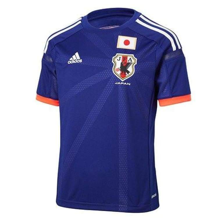 Jerseys / Soccer: Adidas National Team 2014 World Cup Japan (H) Youth S/s G85292 - Kids: 140 Jp / Blue / Adidas / 2014 Adidas Blue Clothing