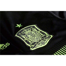 Jerseys / Soccer: Adidas National Team 2014 World Cup Spain (A) S/s Jersey - F39821 - 2014 Adidas Away Kit Black Clothing