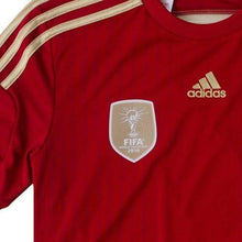 Jerseys / Soccer: Adidas National Team 2014 World Cup Spain (H) Boys S/s G85231 - 2014 Adidas Clothing Home Kit Jerseys