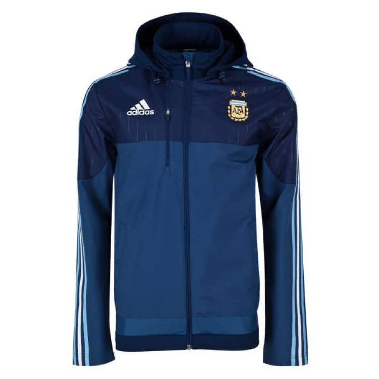 Jackets / Track: Adidas National Team 2015 Argentina Track Jacket M33285 - Adidas / Blue / 2Xl / 2015 Adidas Argentina Argentina (World Cup)