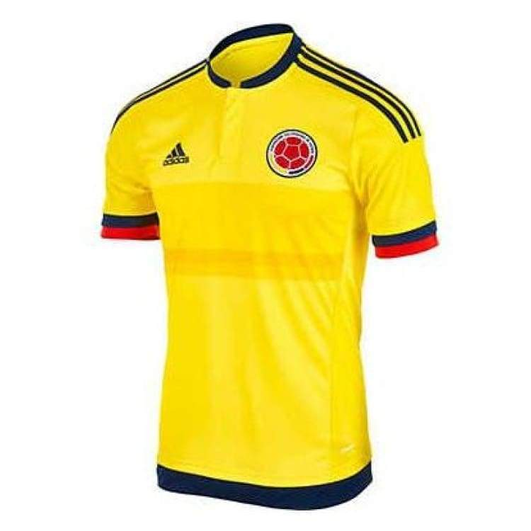 Jerseys / Soccer: Adidas National Team 2015 Colombia (H) S/s Jersey (Bright Yellow/collegiate Navy) M62788 - Adidas / Yellow / S / 2015