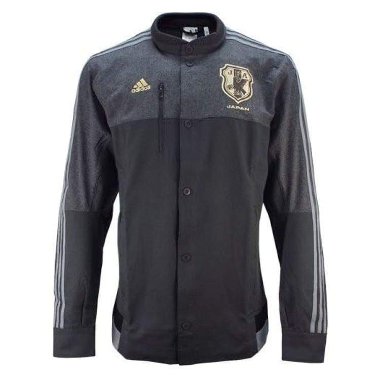 Jackets / Track: Adidas National Team 2015 Japan Anthem Jacket M39127 - Adidas / Charcoal / 2Xl / 2015 Adidas Charcoal Clothing Jackets |