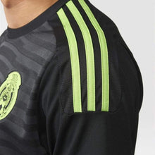 Jerseys / Soccer: Adidas National Team 2015 Mexico (H) S/s (Bk/gy/gn/rd) M36002 - 2015 Adidas Black Clothing Home Kit