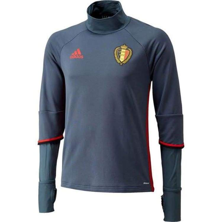 Tops / Warm Up: Adidas National Team 2016 Belgium Training Top Ac5771 - S / Black / Adidas / 2016 Adidas Belgium Belgium (World Cup) Black |