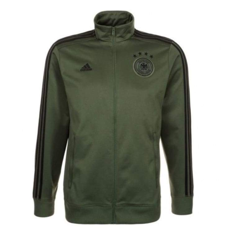 Jackets / Track: Adidas National Team 2016 Germany 3-Stripes Track Top Ac6707 - Adidas / Xs / Green / 2016 Adidas Clothing Germany Germany