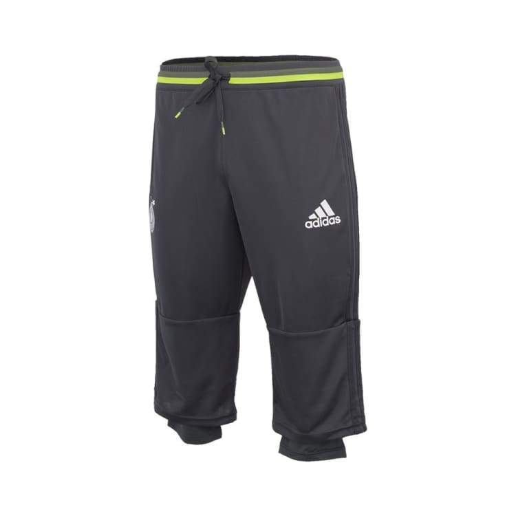 Pants / Training: Adidas National Team 2016 Germany 3/4 Training Pants Ac6511 - S / Dark Grey / Adidas / 2016 Adidas Clothing Dark Grey