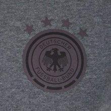 Tees / Short Sleeve: Adidas National Team 2016 Germany 3S Tee Gy/bk Ac6703 - 2016 Adidas Clothing Fans Wear Germany