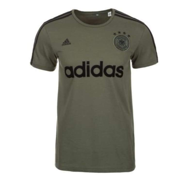 Tees / Short Sleeve: Adidas National Team 2016 Germany Graphic Tee Green Ac6701 - Adidas / S / Green / 2016 Adidas Clothing Fans Wear