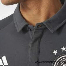 Polos / Short Sleeve: Adidas National Team 2016 Germany Polo Gray Ah3419 - 2016 Adidas Clothing Fans Wear Germany
