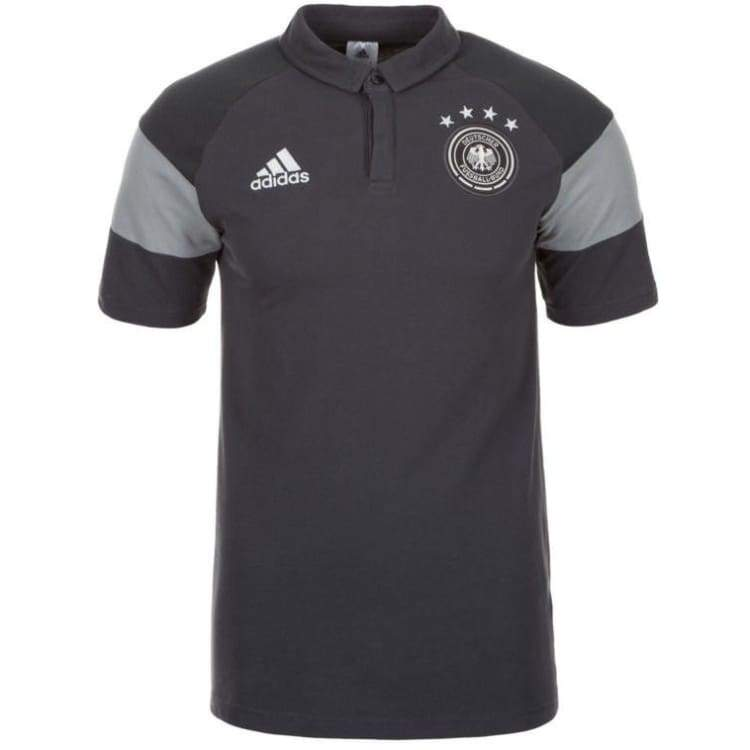 Polos / Short Sleeve: Adidas National Team 2016 Germany Polo Gray Ah3419 - Xs / Gray / Adidas / 2016 Adidas Clothing Fans Wear Germany |