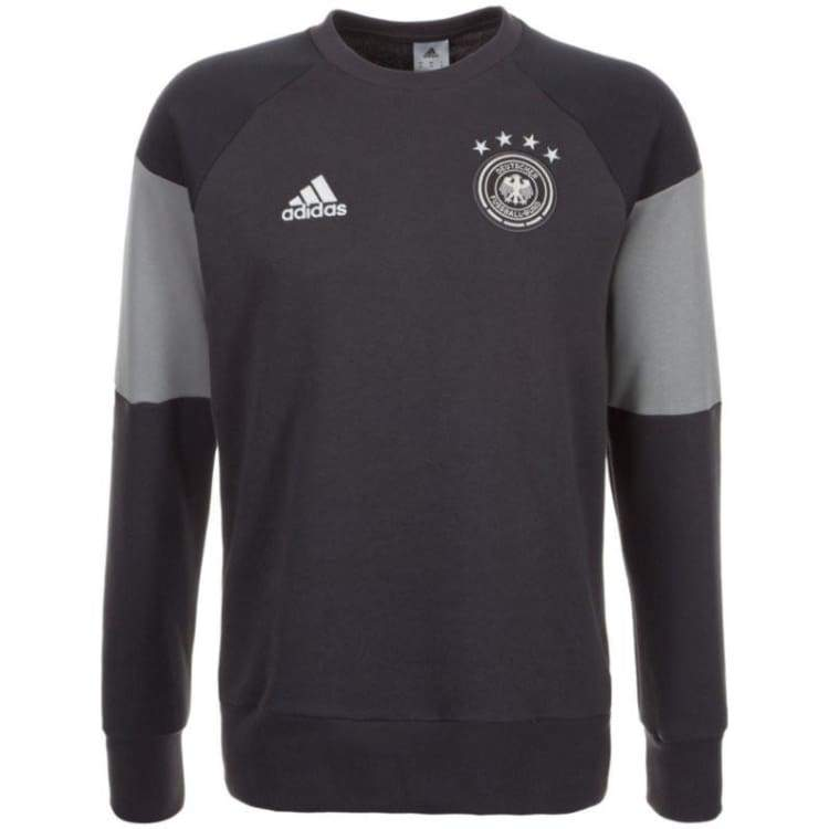 Hoodies & Sweaters: Adidas National Team 2016 Germany Sweat Top Ac6531 - Adidas / Xs / Black / 2016 Adidas Black Clothing Germany |