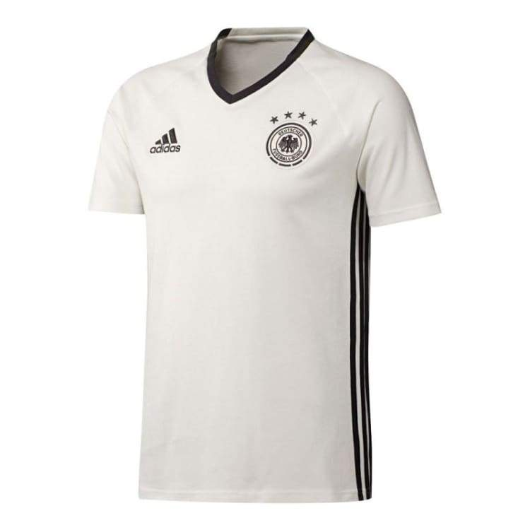 Tees / Short Sleeve: Adidas National Team 2016 Germany Tee White Ac6536 - Adidas / S / White / 2016 Adidas Clothing Fans Wear Germany |