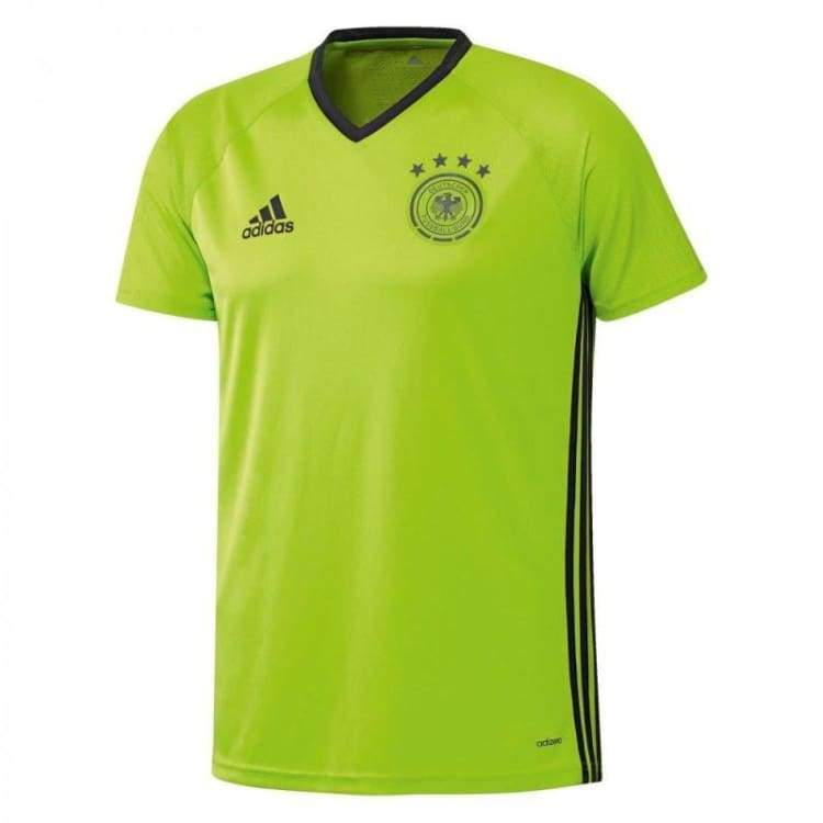 Jerseys / Soccer: Adidas National Team 2016 Germany Training Jersey Ac6544 - Adidas / S / Lime / 2016 Adidas Clothing Germany Germany (World