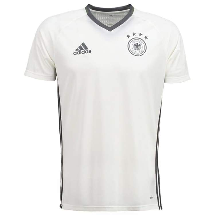 Jerseys / Soccer: Adidas National Team 2016 Germany Training Jersey White Ac6545 - Adidas / S / White / 2016 Adidas Clothing Germany Germany