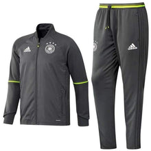 Tracksuit: Adidas National Team 2016 Germany Training Suit Ac6555 - Xs / Grey / Adidas / 2016 Adidas Clothing Germany Germany (World Cup) |