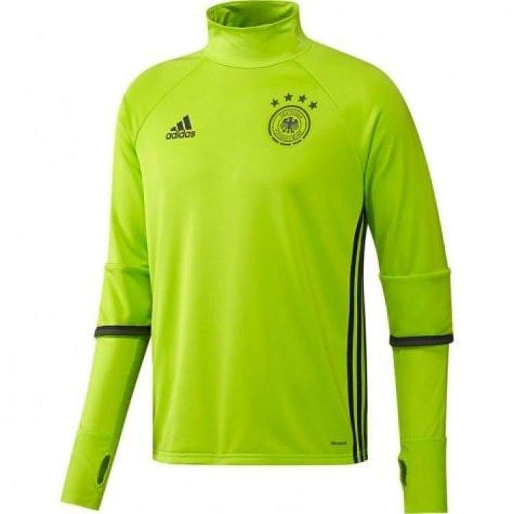 Tops / Warm Up: Adidas National Team 2016 Germany Training Top Ac6561 - S / Lime / Adidas / 2016 Adidas Clothing Germany Germany (World Cup)