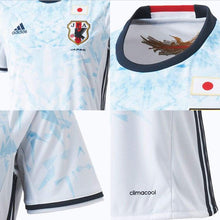 Jerseys / Soccer: Adidas National Team 2016 Japan (A) S/s Aa0284(Jap. Size) - 2016 Adidas Away Kit Blue / White Clothing