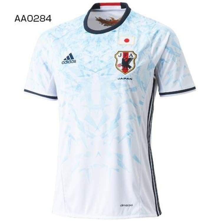 Jerseys / Soccer: Adidas National Team 2016 Japan (A) S/s Aa0284(Jap. Size) - Jaspo: Xs / Blue / White / Adidas / 2016 Adidas Away Kit Blue