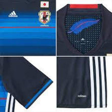 Jerseys / Soccer: Adidas National Team 2016 Japan (H) S/s Aa0308(Jap. Size) - 2016 Adidas Blue Clothing Home Kit