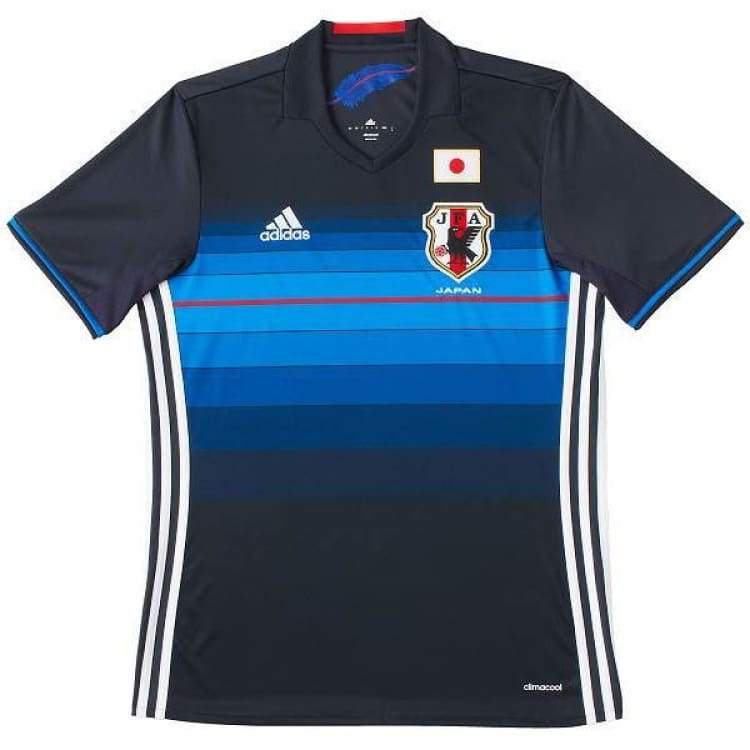 Jerseys / Soccer: Adidas National Team 2016 Japan (H) S/s Aa0308(Jap. Size) - Jaspo: Xs / Blue / Adidas / 2016 Adidas Blue Clothing Home Kit