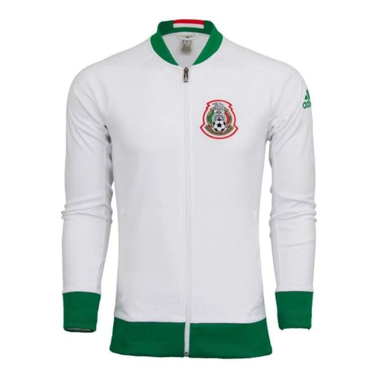 Jackets / Track: Adidas National Team 2016 Mexico Anthem Jacket Ai4526 - Adidas / S / Green / White / 2016 Adidas Clothing Green / White