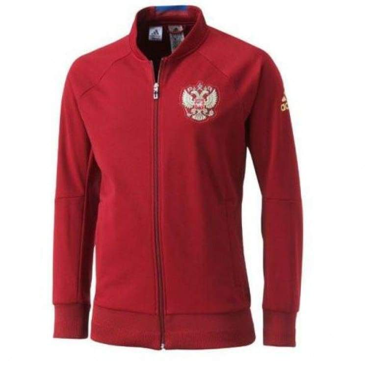 Jackets / Track: Adidas National Team 2016 Russia Anth Jacket Ai4489 - S / Red / Adidas / 2016 Adidas Clothing Jackets Jackets / Track |