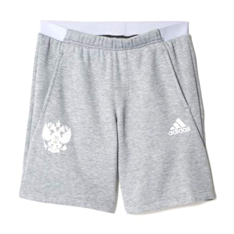 Shorts / Casual: Adidas National Team 2016 Russia Sweater Shorts Ai4308 - S / Grey / Adidas / 2016 Adidas Clothing Grey Land |