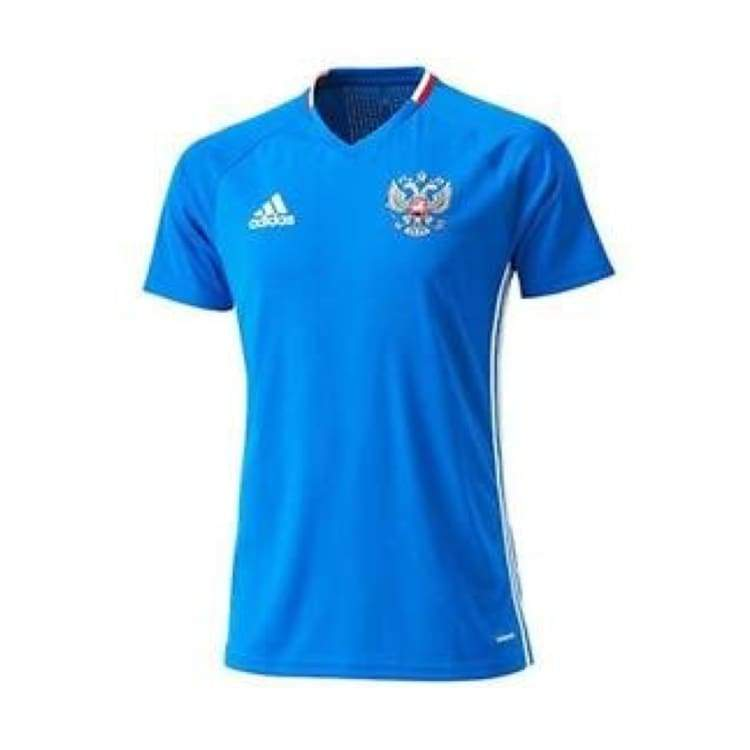 Jerseys / Soccer: Adidas National Team 2016 Russia Training Jersey Ac5793 - Adidas / S / Blue / 2016 Adidas Blue Clothing Jerseys |