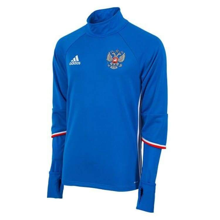 Tops / Warm Up: Adidas National Team 2016 Russia Training Top Rd/wht Ac5799 - Adidas / S / Blue / 2016 Adidas Blue Clothing Land |
