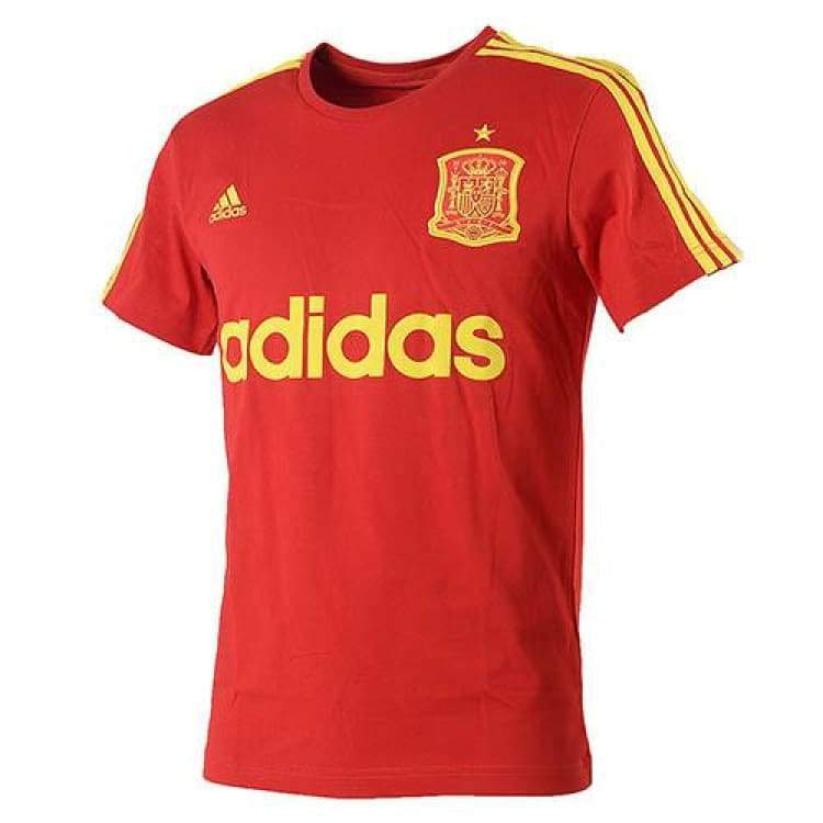 Tees / Short Sleeve: Adidas National Team 2016 Spain Graphic Tee Ai4447 - Adidas / S / Red / 2016 Adidas Clothing Fans Wear Land |